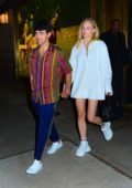 Sophie Turner, Joe Jonas, Priyanka Chopra, and Nick Jonas have a double date night in New York City