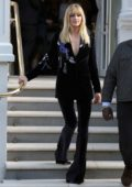 Sophie Turner sports new bangs as she steps out to promote 'X-Men: Dark Phoenix' in London, UK