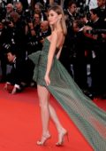 Stefanie Giesinger attends the screening of 'Pain And Glory' (Dolor Y Gloria) during the 72nd annual Cannes Film Festival in Cannes, France