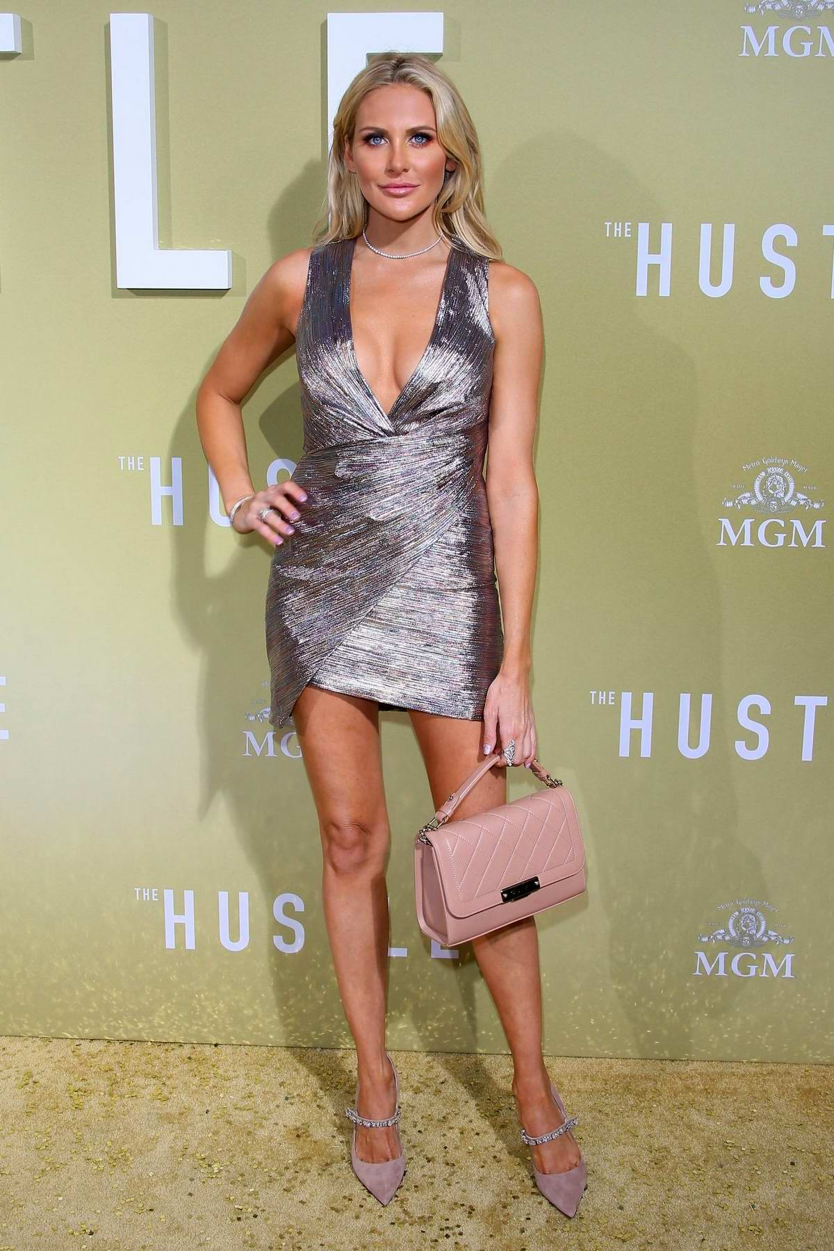 Stephanie Pratt attends the premiere of 'The Hustle' at Arclight Cinerama Dome in Hollywood, California