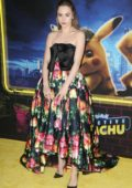 Suki Waterhouse attends 'Pokemon Detective Pikachu' film premiere in New York City