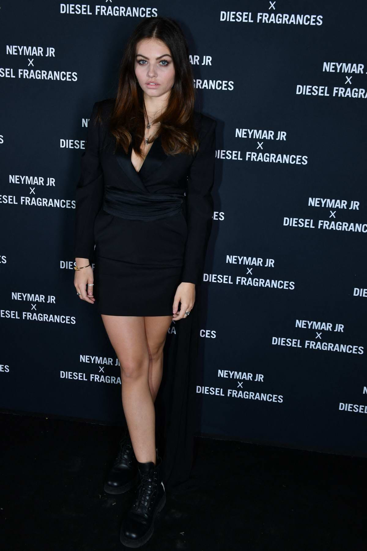 Thylane Blondeau attends the Neymar Jr x Diesel Perfume Launch Party in Paris, France