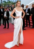 Toni Garrn attends the screening of 'A Hidden Life' during the 72nd annual Cannes Film Festival in Cannes, France