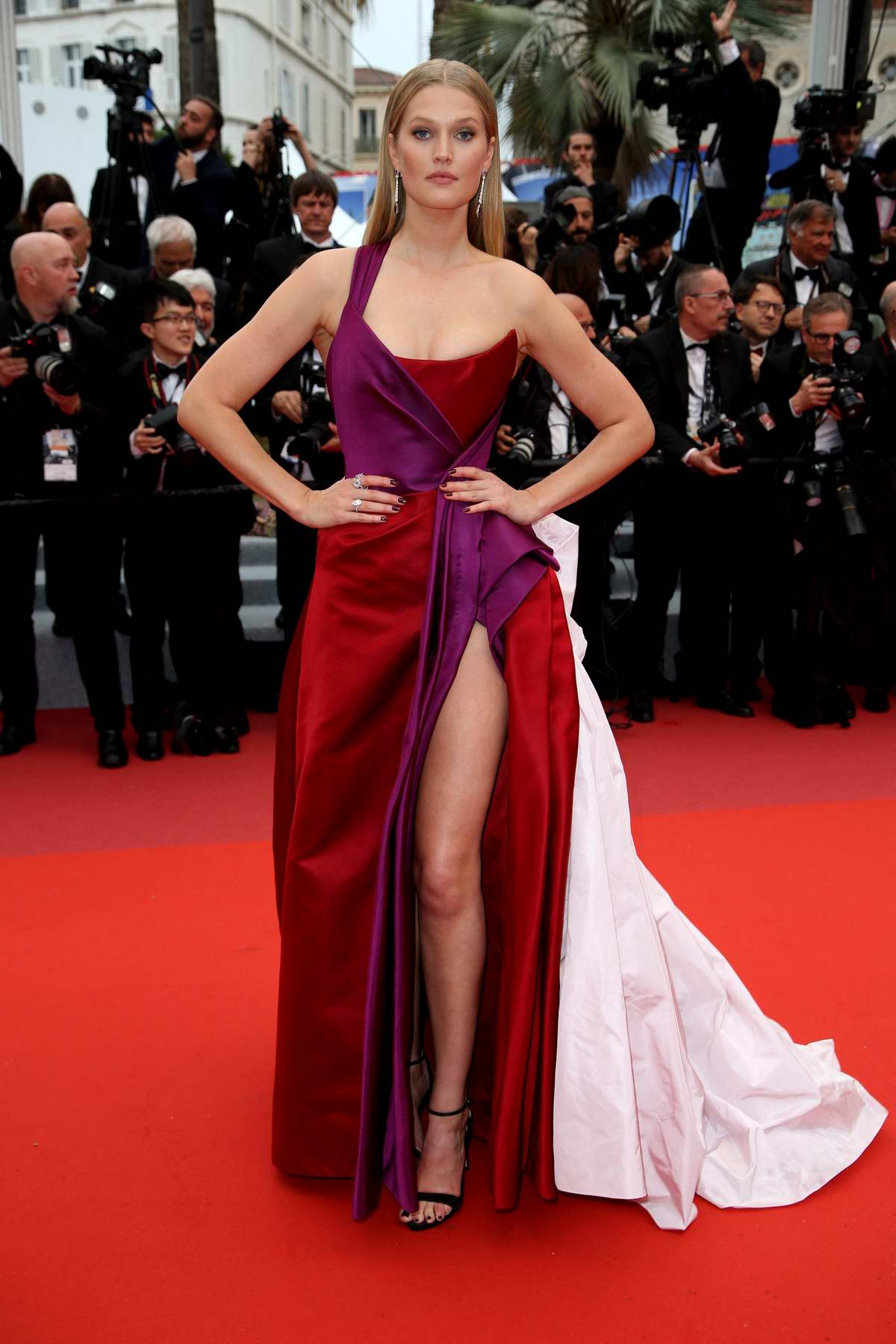Toni Garrn attends the screening of 'Les Plus Belles Annees D'Une Vie' during the 72nd annual Cannes Film Festival in Cannes, France