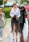 Toni Garrn looks stunning while out on the Croisette during the 72nd Cannes Film Festival in Cannes, France