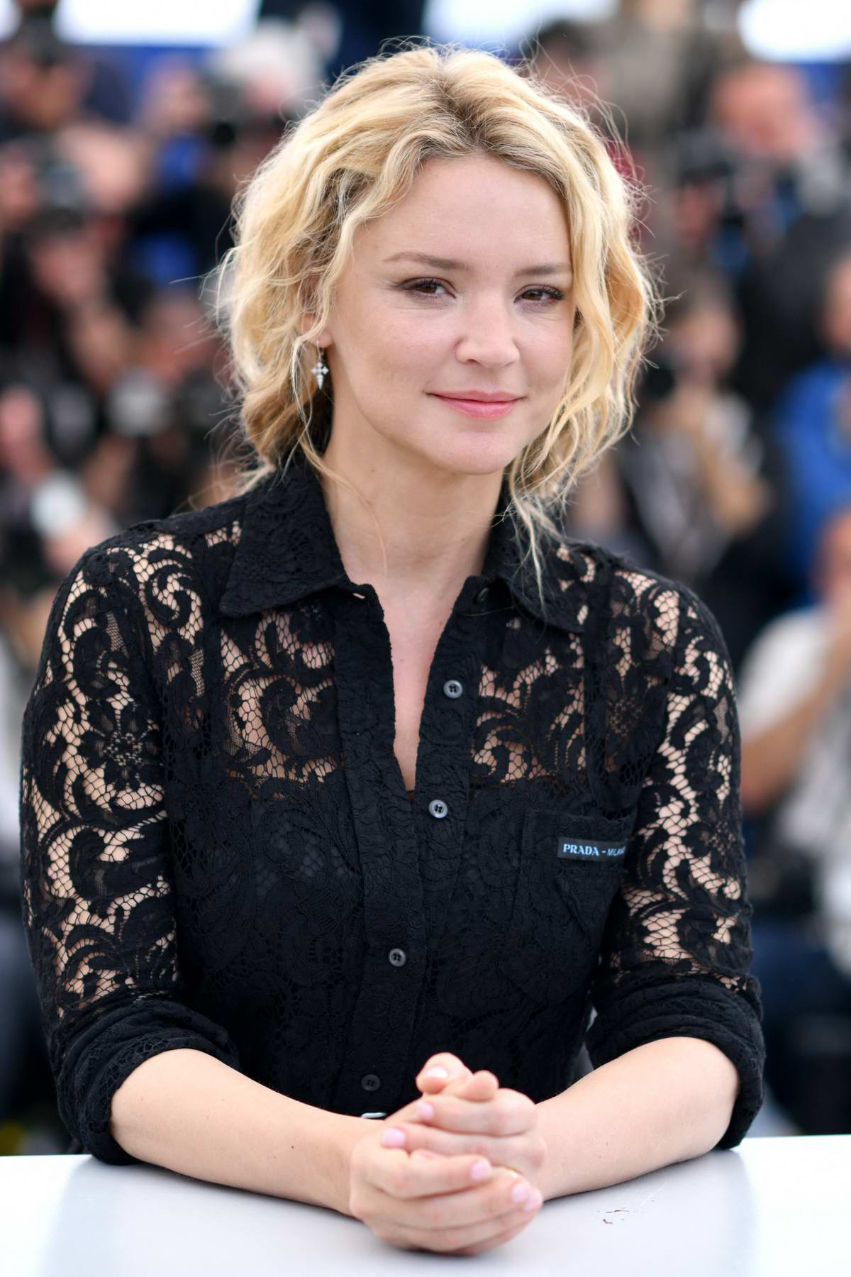 Virginie Efira attends the photocall for 'Sibyl' during the 72nd annual Cannes Film Festival in Cannes, France