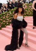 Yara Shahidi attends The 2019 Met Gala Celebrating Camp: Notes on Fashion in New York City