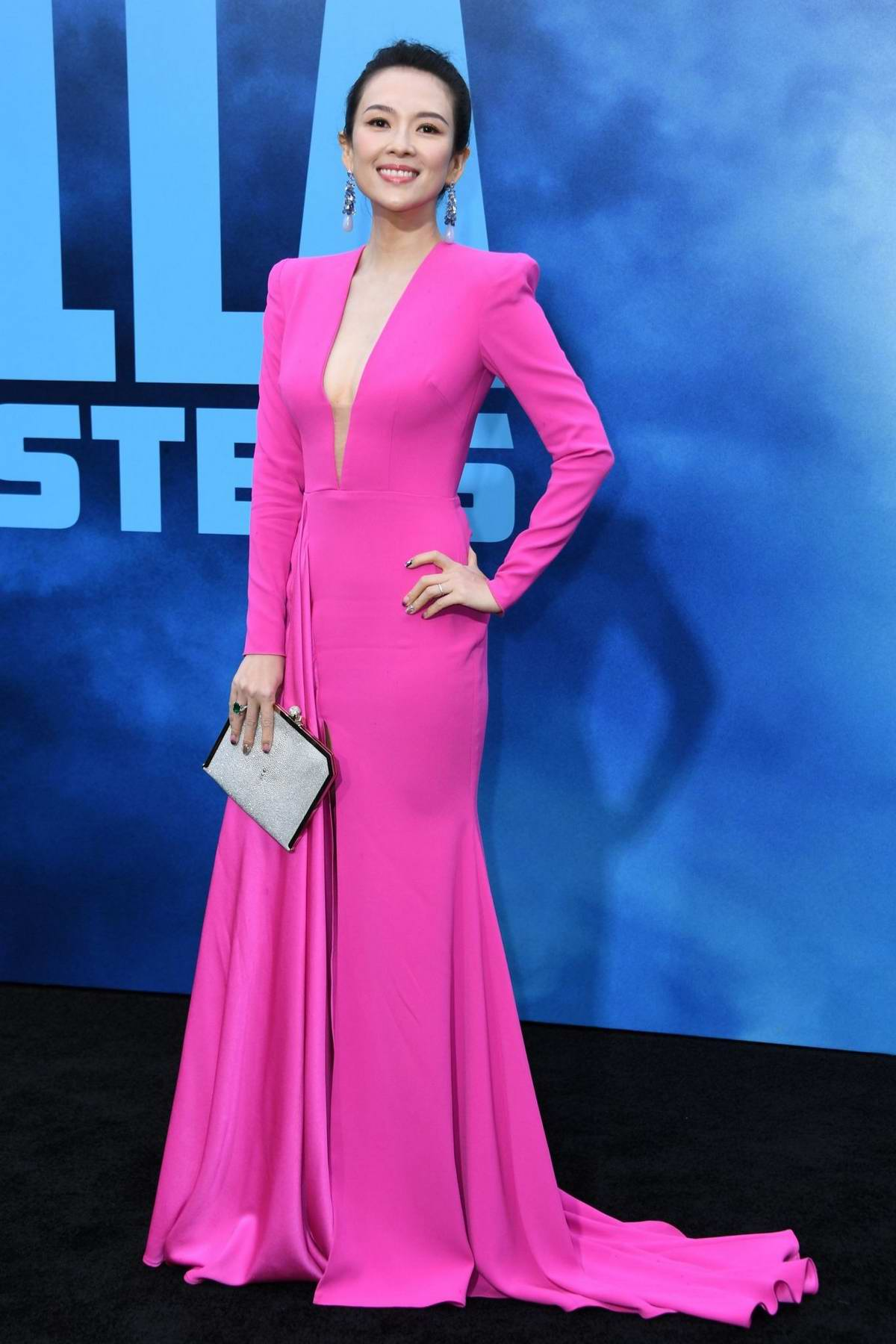 Zhang Ziyi attends 'Godzilla: King Of The Monsters' Premiere at TCL Chinese Theatre in Hollywood, California