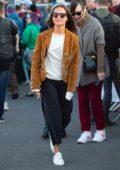 Alicia Vikander and Michael Fassbender visit Michael's home town in Killarney, Ireland