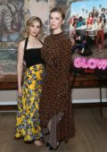 Alison Brie and Betty Gilpin attend the New York ATAS Screening for Netflix 'Glow' in New York City