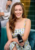 Alycia Debnam-Carey visits AOL Build Series to promote Season 5 of 'Fear The Walking Dead' at Build Studios in New York City