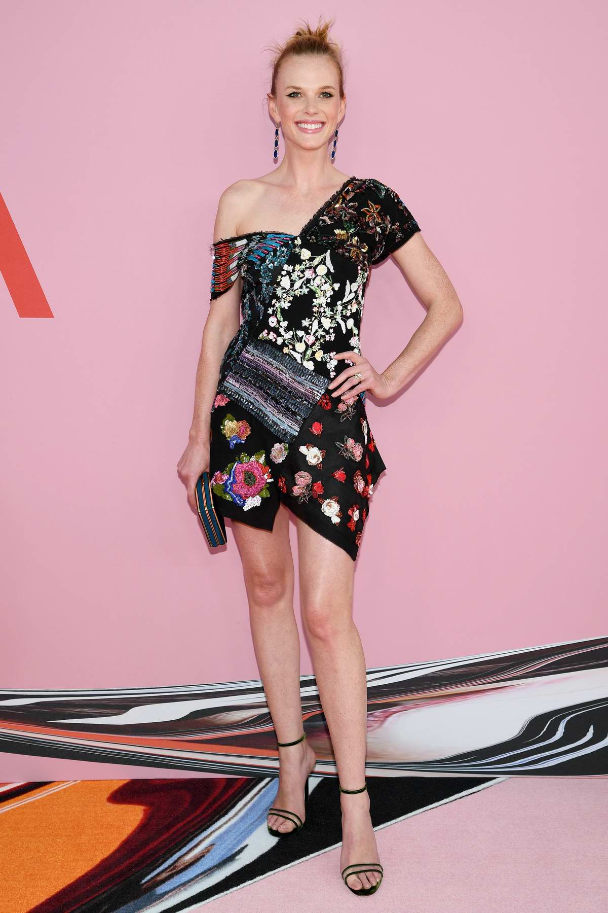 Anne Vyalitsyna attends the 2019 CFDA Fashion Awards at Brooklyn Museum in New York City