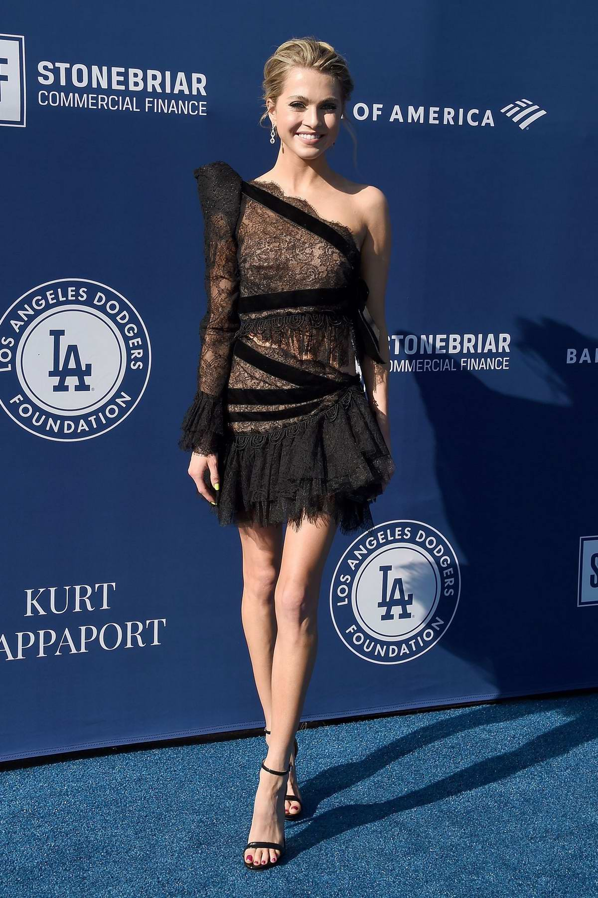 Anne Winters attends the 5th Annual Blue Diamond Foundation at Dodger Stadium in Los Angeles