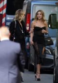 Ashley Benson and Cara Delevingne arrive at Zoe Kravitz and Karl Glusman wedding in Paris, France