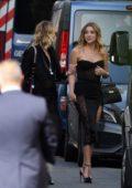 Ashley Benson and Cara Delevingne arrive at Zoe Kravitz and Karl Glusman wedding in Paris, France