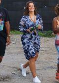Ashley Graham attends the Jonas Brothers Spotify Concert in New York City
