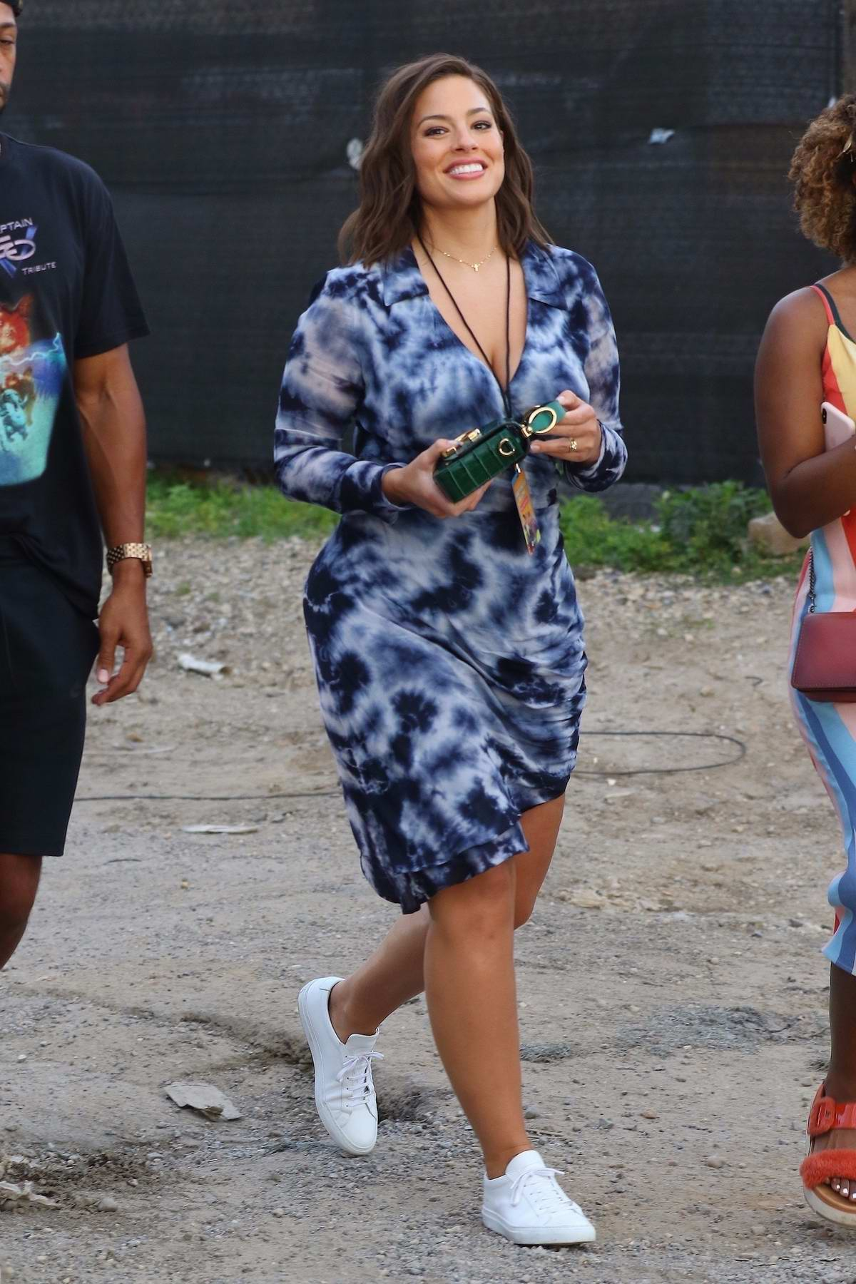 Ashley Graham Attends The Jonas Brothers Spotify Concert In New York