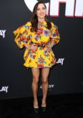Aubrey Plaza attends the premiere of 'Child's Play' at ArcLight Cinemas in Hollywood, California
