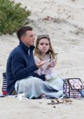 Ava Phillippe enjoys a beach date in Los Angeles