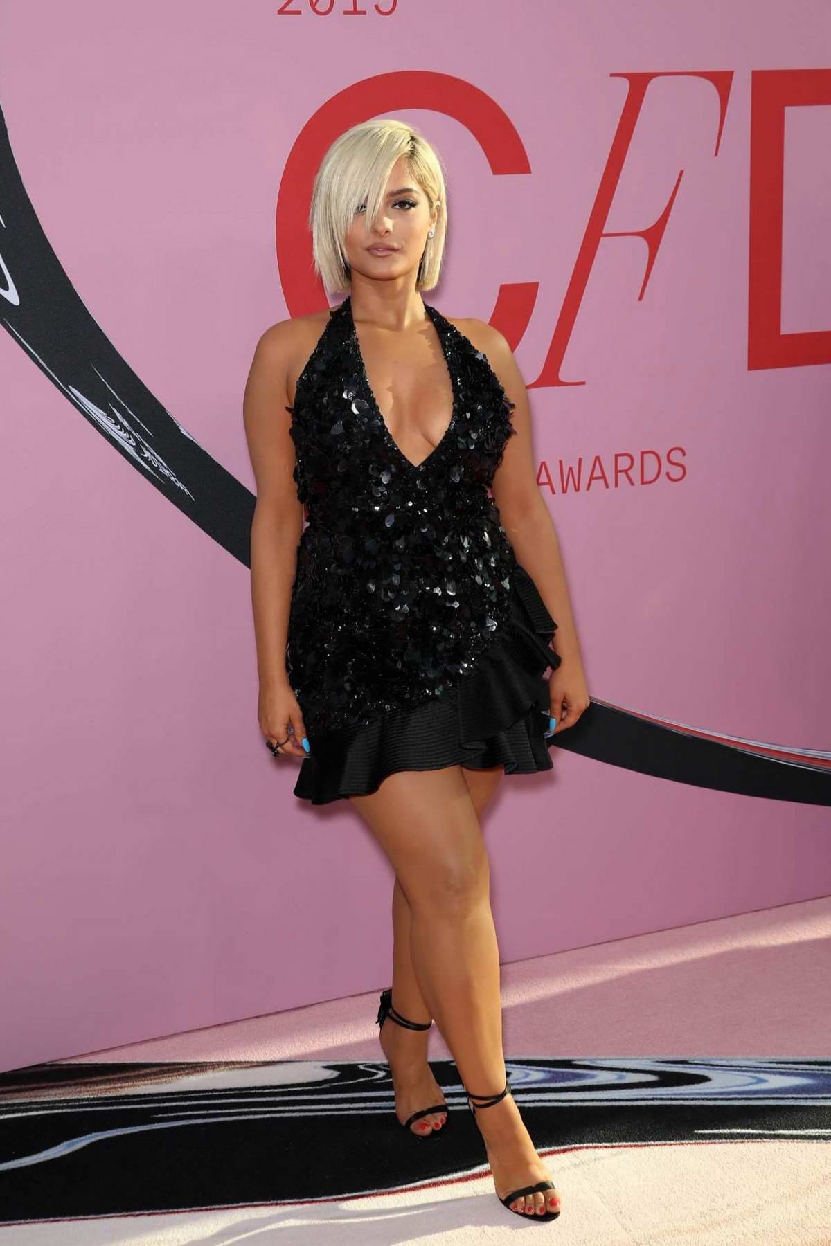 Bebe Rexha attends the 2019 CFDA Fashion Awards at Brooklyn Museum in New York City
