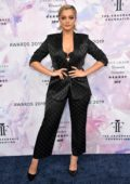 Bebe Rexha attends the 2019 Fragrance Foundation Awards at Lincoln Center in New York City