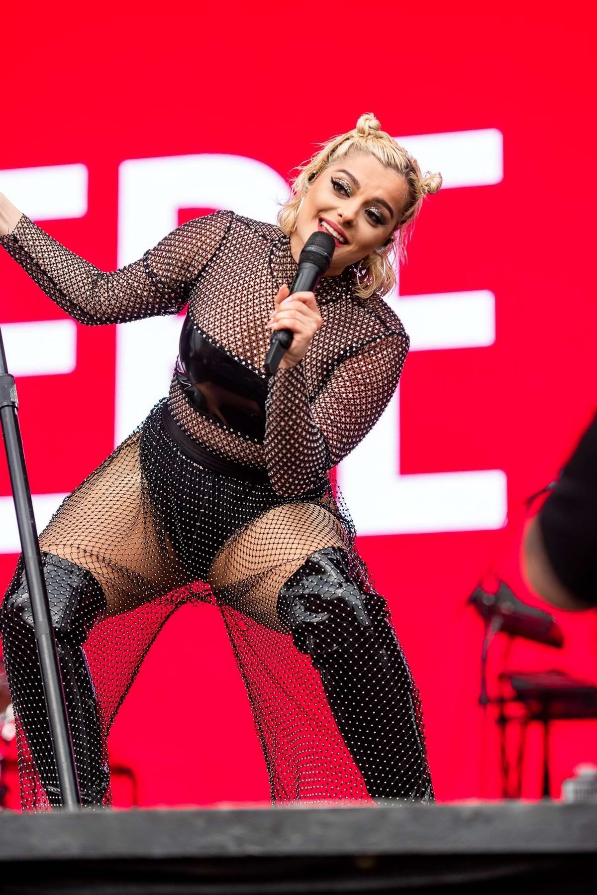 Bebe Rexha Performs At 2019 Hangout Music Festival In Gulf