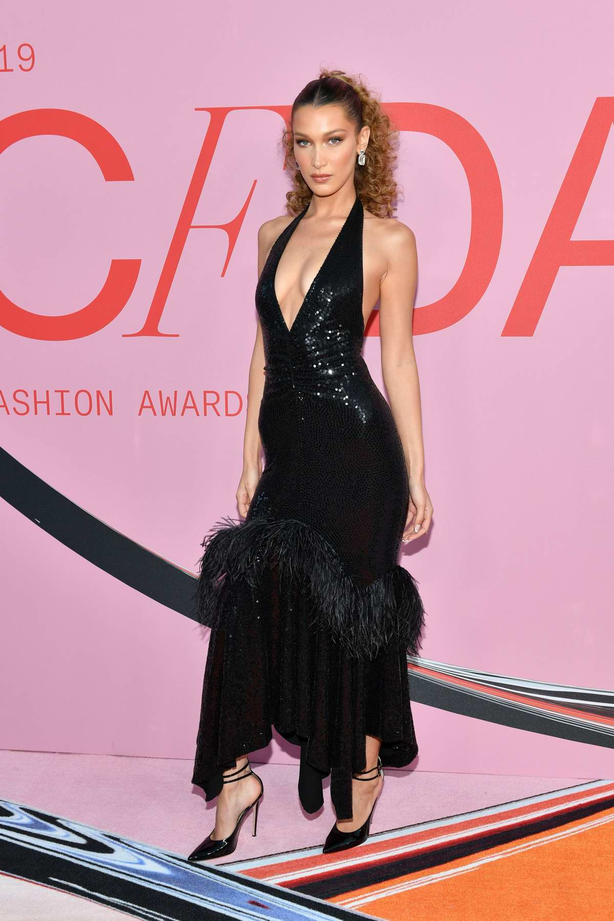 Bella Hadid attends the 2019 CFDA Fashion Awards at Brooklyn Museum in New York City