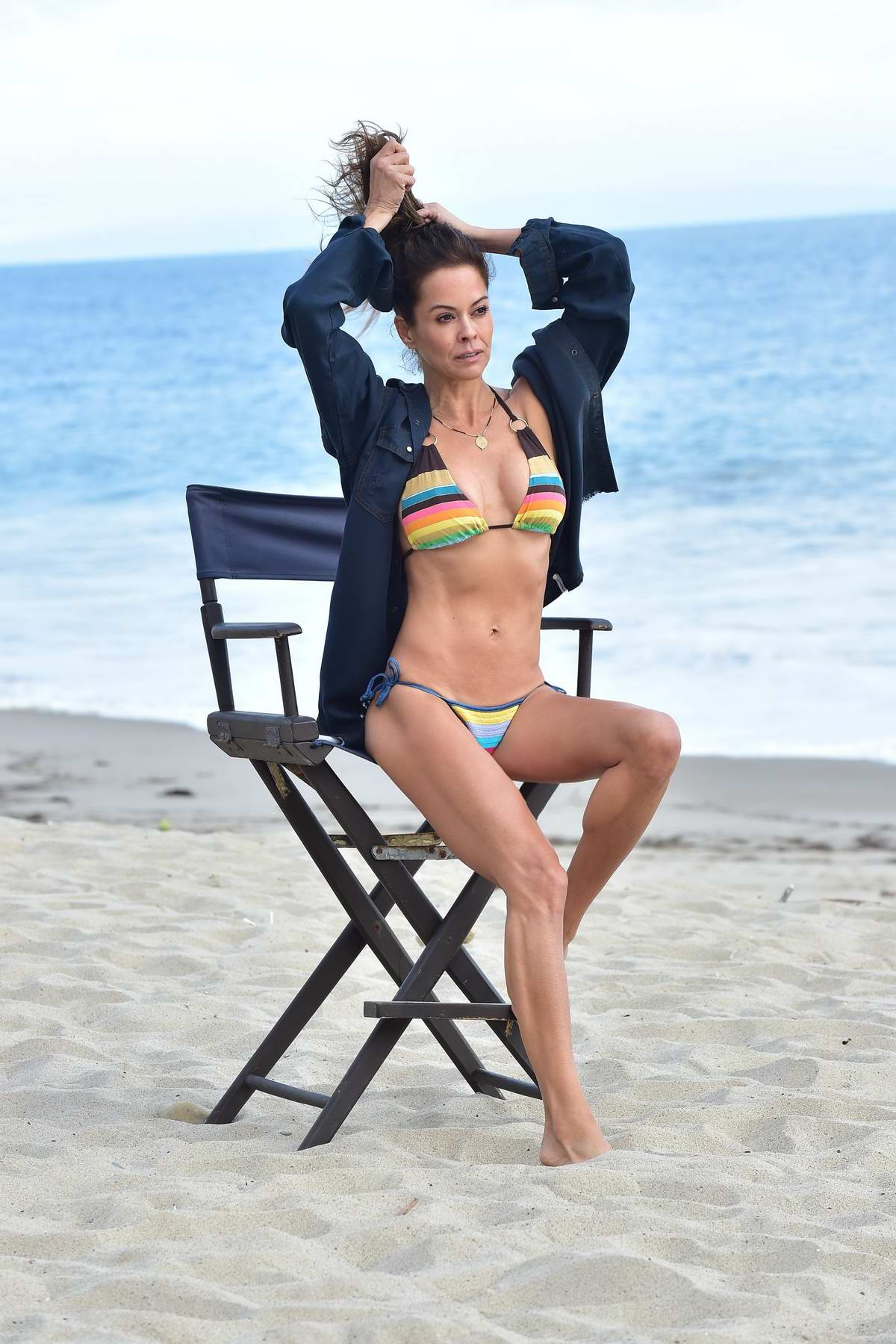 Brooke Burke shows off her body on Instagram with naked