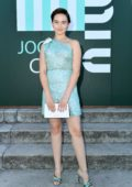 Cailee Spaeny attends Miu Miu Club event at Hippodrome d'Auteuil in Paris, France