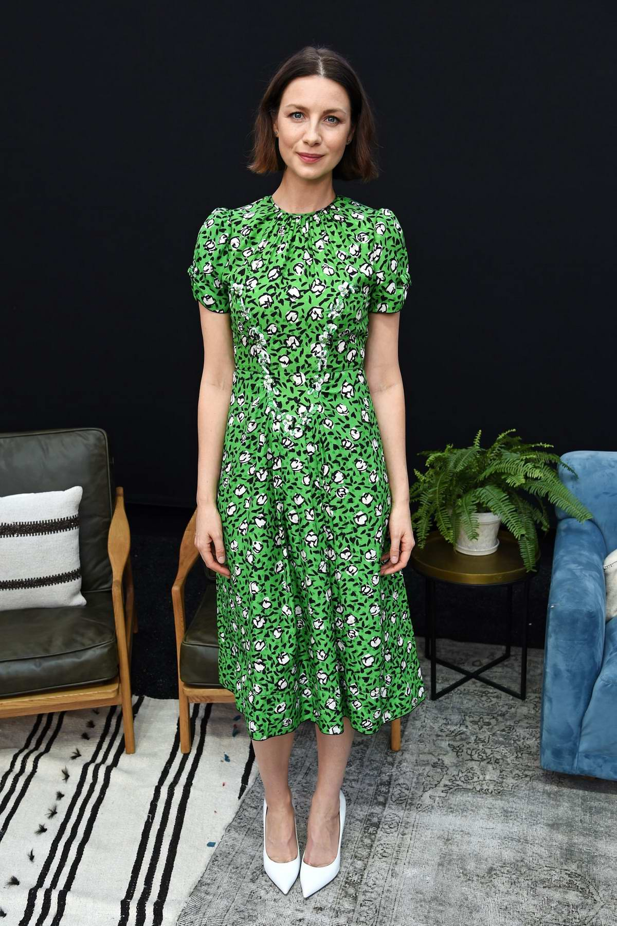 Caitriona Balfe attends Starz FYC 2019 Where Creativity, Culture and Conversations Collide at Westfield Century City, California