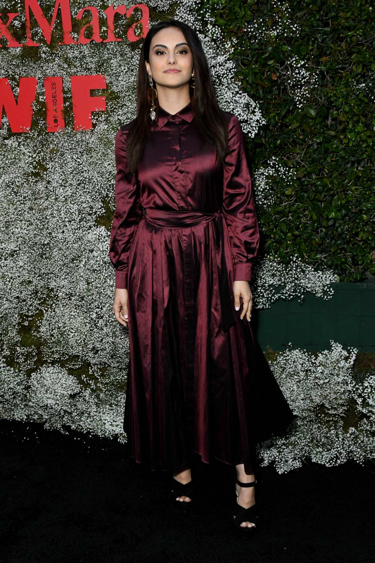Camila Mendes attends the 2019 Women In Film Max Mara Face Of The Future in Los Angeles