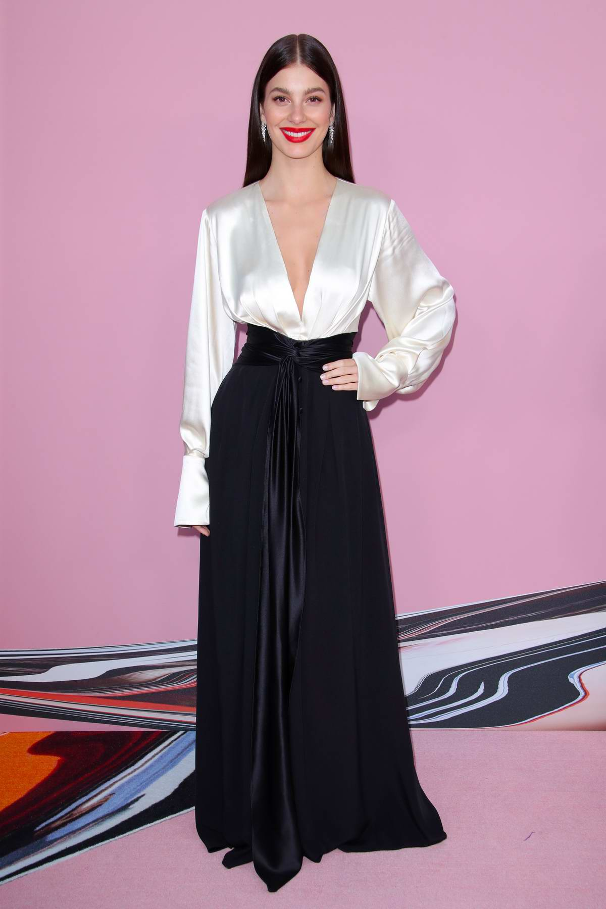 Camila Morrone attends the 2019 CFDA Fashion Awards at Brooklyn Museum in New York City