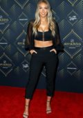 Camille Kostek attends the 2019 NHL Awards at the Mandalay Bay Events Center in Las Vegas