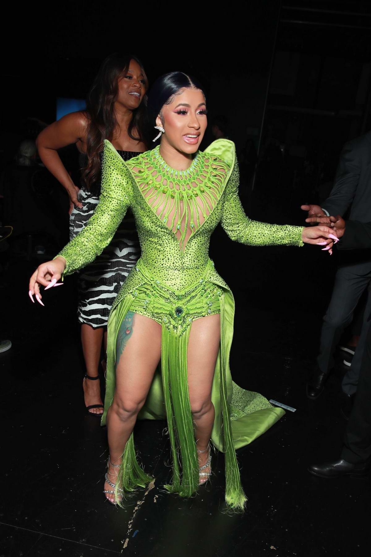 Cardi B attends the 2019 BET Awards held at Microsoft Theater in Los Angeles