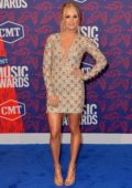 Carrie Underwood attends the 2019 CMT Music Awards at Bridgestone Arena in Nashville, TN