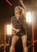 Carrie Underwood performs onstage during day 2 for the 2019 CMA Music Festival in Nashville, TN