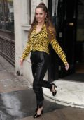 Cheryl Tweedy promotes her new single 'Let You' at KISS FM Studios in London, UK