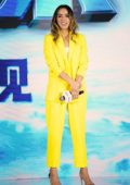 Chloe Bennet attends a press conference for 'Abominable' in Shanghai, China