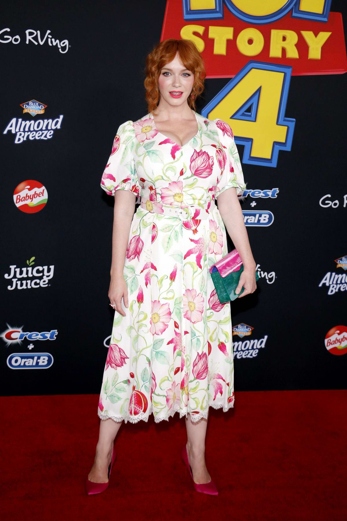 Christina Hendricks attends the World Premiere of 'Toy Story 4' at the El Capitan Theater in Hollywood, California