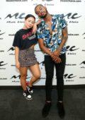 Cierra Ramirez visit Music Choice in New York City