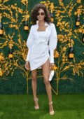 Cindy Bruna attends the 12th Annual Veuve Clicquot Polo Classic in Liberty State Park in Jersey City, New Jersey
