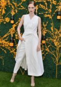 Coco Rocha attends the 12th Annual Veuve Clicquot Polo Classic in Liberty State Park in Jersey City, New Jersey