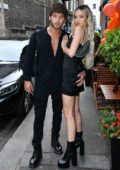 Delilah Hamlin and Eyal Booker attend the El Pirata 25th Anniversary Party in London, UK