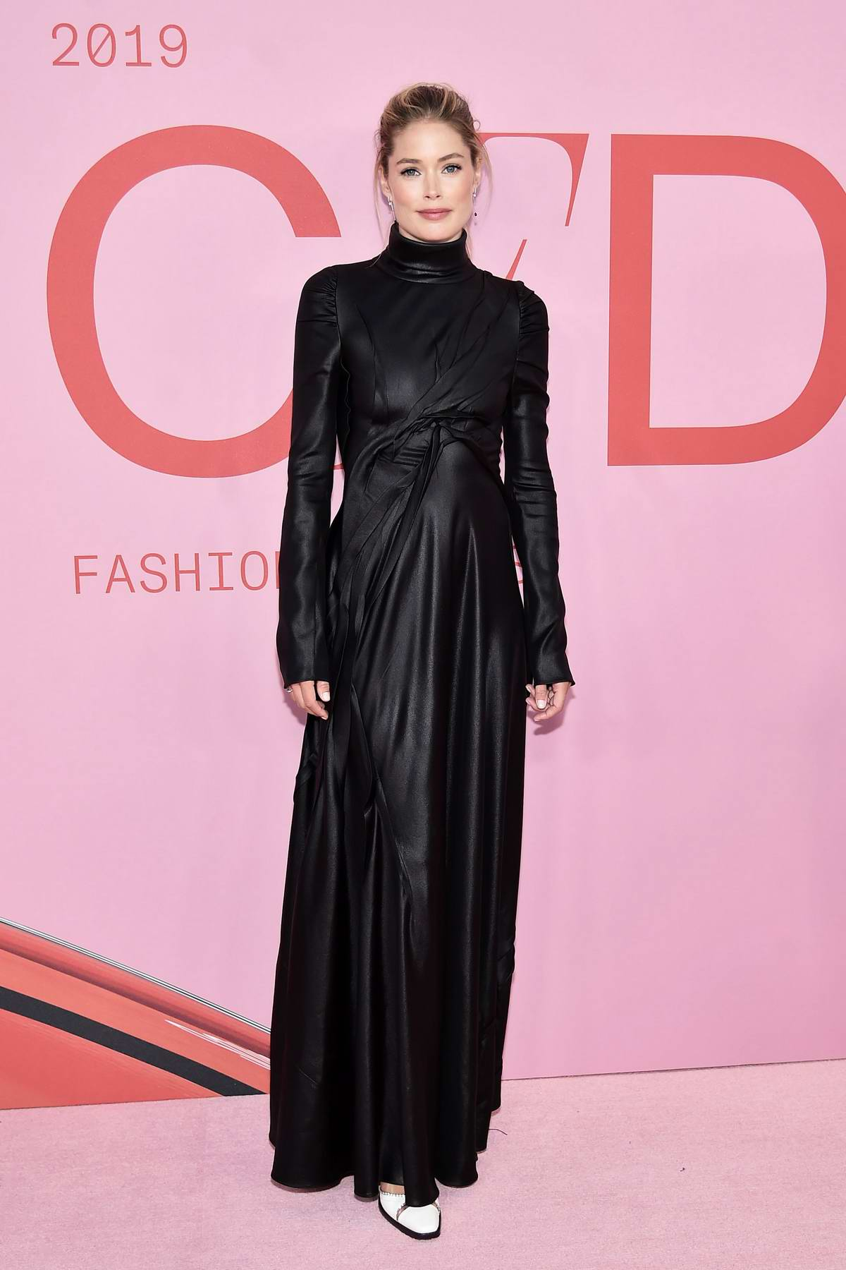 Doutzen Kroes attends the 2019 CFDA Fashion Awards at Brooklyn Museum in New York City
