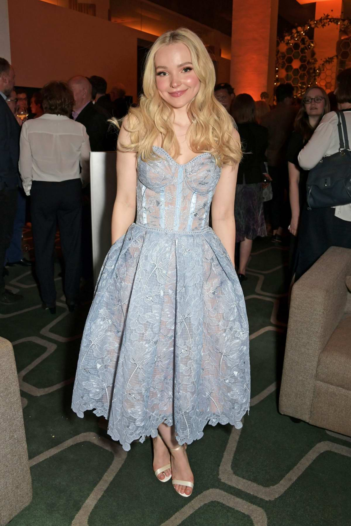 Dove Cameron attends the press night after party for 'The Light In The Piazza' at Skylon in London, UK