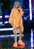 Ellie Goulding performs live on GMA Summer Concert 2019 on Good Morning America in New York City