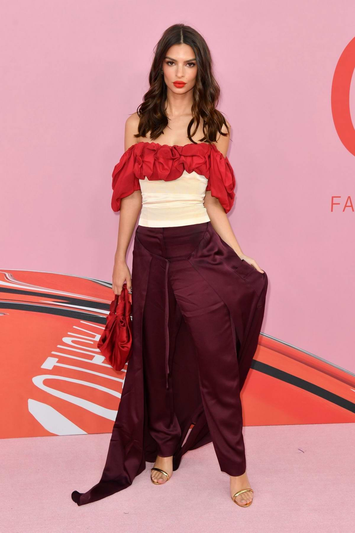 Emily Ratajkowski attends the 2019 CFDA Fashion Awards at Brooklyn Museum in New York City
