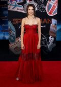 Emma Fuhrmann attends the premiere of 'Spider-Man: Far From Home' at TCL Chinese Theatre in Hollywood, California