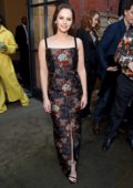 Felicity Jones attends The V&A Summer Party 2019 in partnership with Dior in London, UK