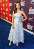 Hayley Orrantia attends the 2019 CMT Music Awards at Bridgestone Arena in Nashville, TN